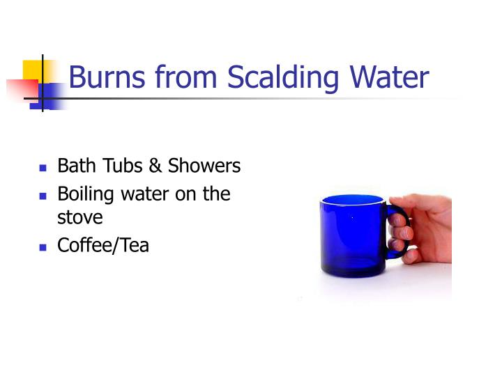 Burns from Scalding Water