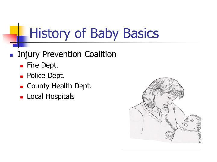History of baby basics