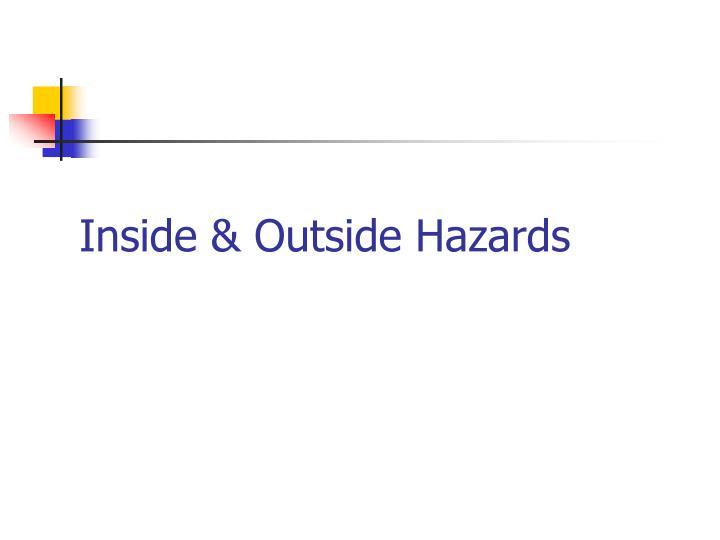 Inside & Outside Hazards