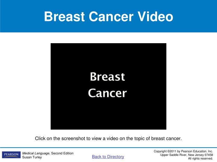 Breast Cancer Video