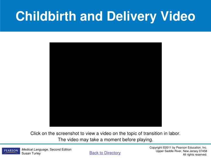 Childbirth and Delivery Video