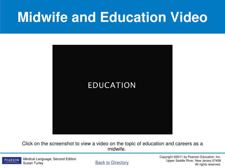 Midwife and Education Video