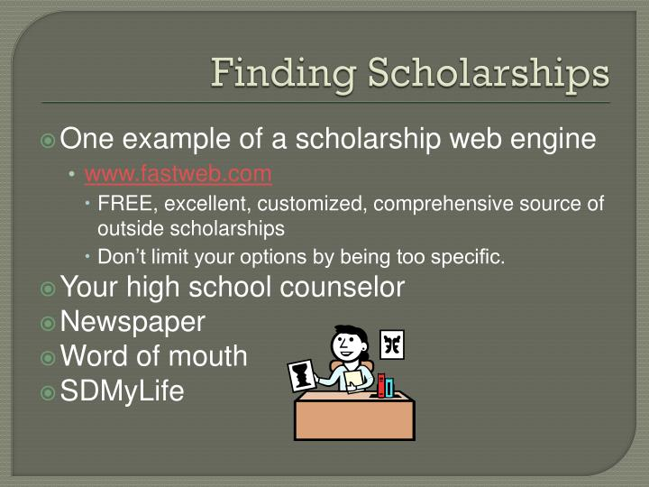 Finding Scholarships