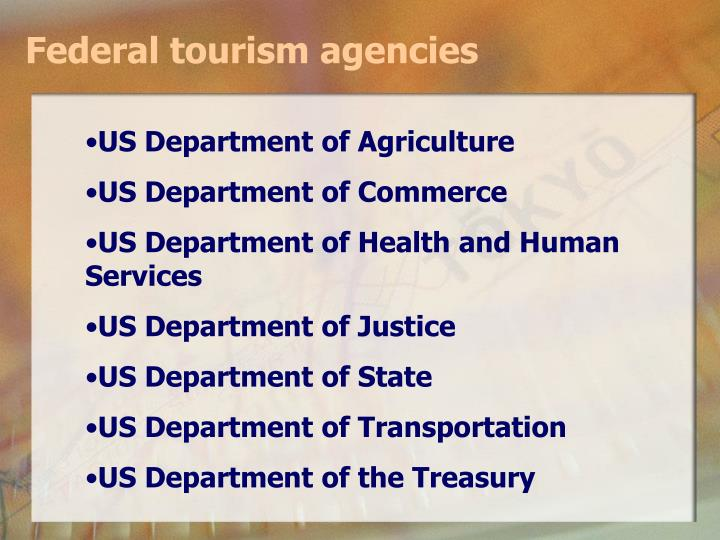 Federal tourism agencies
