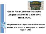 gwinn area community schools longest distance to get to link think tank