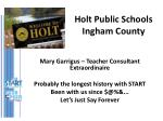 holt public schools ingham county