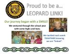 proud to be a leopard link