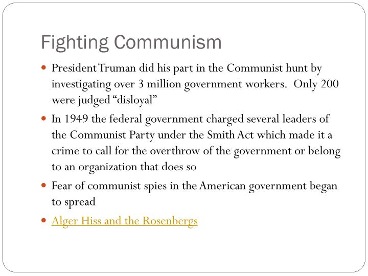 Fighting Communism