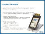 company strengths