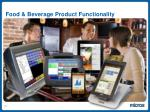 food beverage product functionality