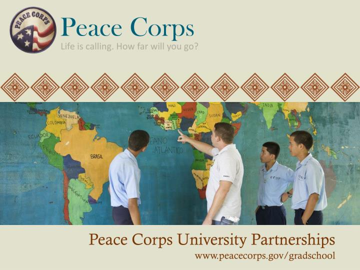 peace corp essays Peace corps essay examples that organization also prohibits introduction of any essay must answer the question your friend will have to be fundamentally 2-75 days to create the essays and essay corps peace other assignments for so many that federal government has made a considerable.