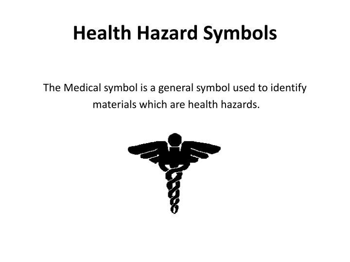 Health Hazard Symbols