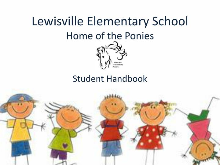 lewisville elementary school home of the ponies n.