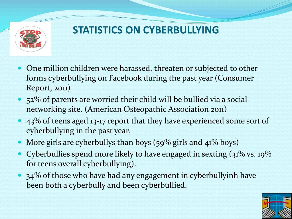 PPT - Parent's Bullied + Cyberbullying Crimes and