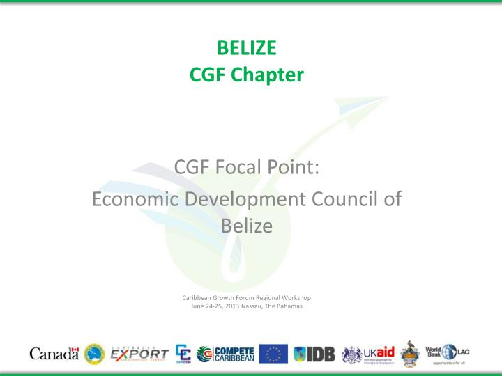 belize cgf chapter n.