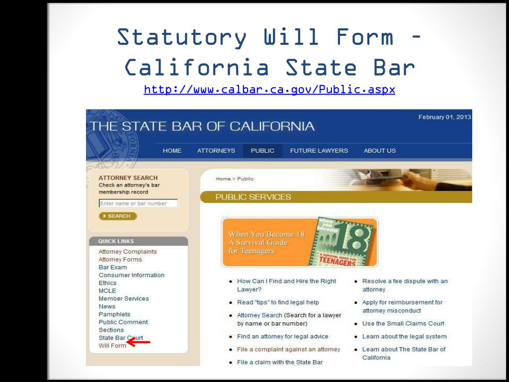 PPT - Finding Legal Forms: Getting Started in Public