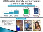 gmi supplier diversity moving towards a world class process