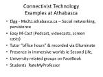 connectivist technology examples at athabasca