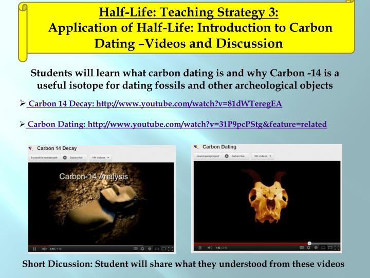 Half-Life: Teaching Strategy 3:
