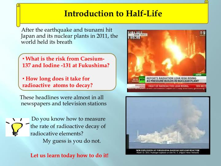 Introduction to Half-Life