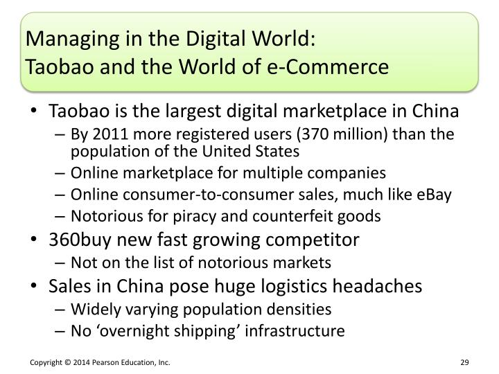 Managing in the Digital World: