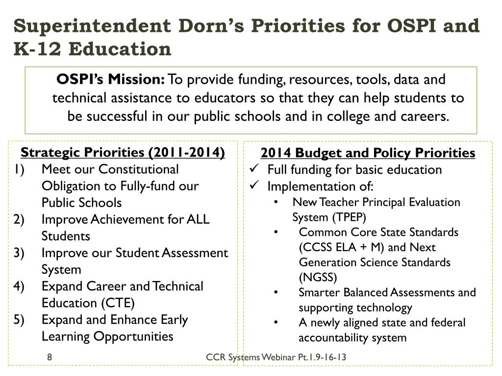 ospi learning webinar toward standards career moving teaching ready college series ppt powerpoint presentation