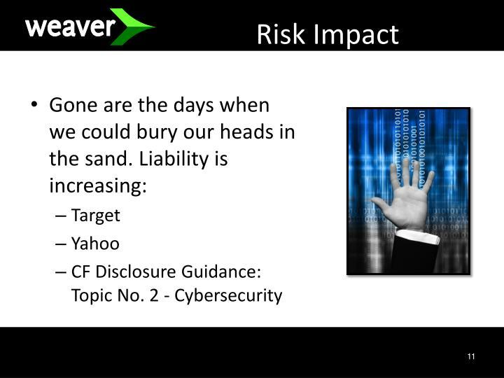 Risk Impact