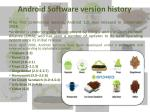 android software version history