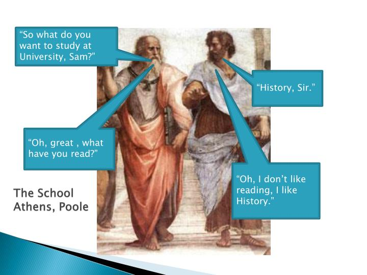 the school athens poole