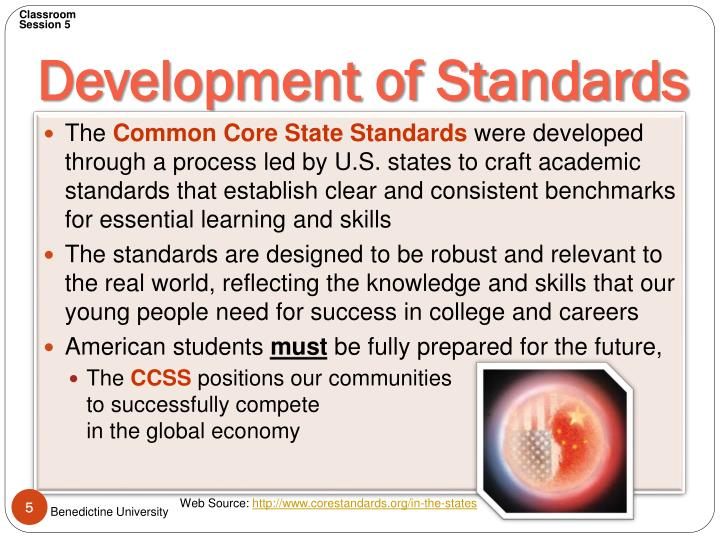 Development of Standards