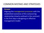 common mistake and strategies1