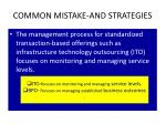 common mistake and strategies2