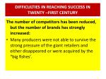difficulties in reaching success in twenty first century3