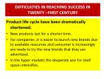 difficulties in reaching success in twenty first century4