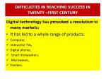 difficulties in reaching success in twenty first century6
