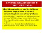 difficulties in reaching success in twenty first century9