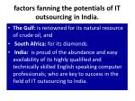 factors fanning the potentials of it outsourcing in india2