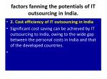factors fanning the potentials of it outsourcing in india3