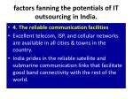 factors fanning the potentials of it outsourcing in india7
