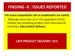 finding 6 issues reported