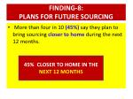 finding 8 plans for future sourcing3