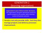 generation 2 sourcing organization