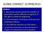 global compact 10 principles1
