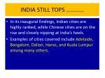 india still tops1
