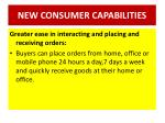 new consumer capabilities4