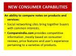 new consumer capabilities5