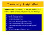 the country of origin effect10