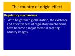 the country of origin effect12