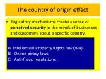 the country of origin effect13