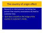 the country of origin effect3